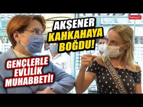 Meral Akşener gençleri kahkaya boğdu... Akşener'den güldüren evlilik muhabbeti!
