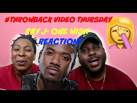Ray J - One Wish (Official Music Video) in HQ with lyrics | REACTION| THROWBACK