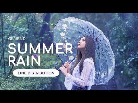 GFRIEND - Summer Rain (Line Distribution)