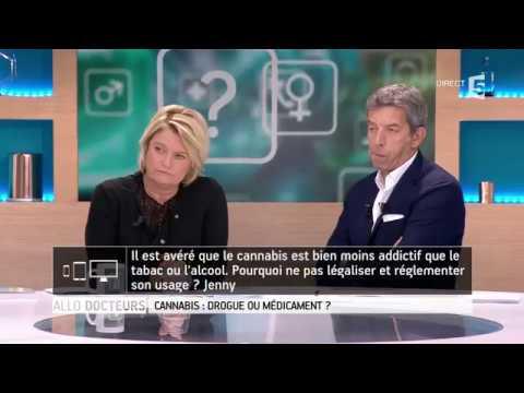 Débat : Le cannabis, drogue ou médicament ? (Allô Docteurs, France 5) (12/10/2017) (FR)