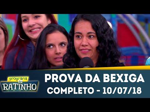 Prova Da Bexiga - Completo | Programa Do Ratinho (10/07/2018)