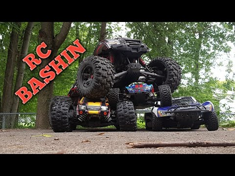 RC BASHIN :Traxxas Rustler 4x4 Slash 2wd Xmaxx 8s ZD Racing Pirates 2