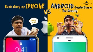 Back story of iPhone vs Android - Deleted Scenes