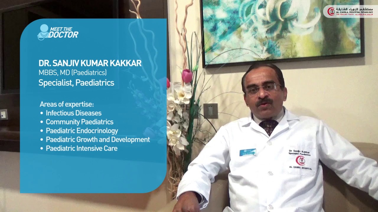 Dr  Sanjiv Kumar Kakkar | Paediatrics Sharjah, UAE