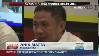 PKS Tepis Prediksi Lembaga Survei - Kompas Siang 100414
