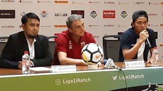 Pre Match Press Conference Madura United vs Persija