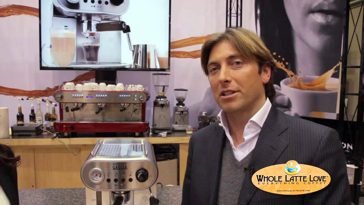 Gaggia Brand By Whole Latte Love You