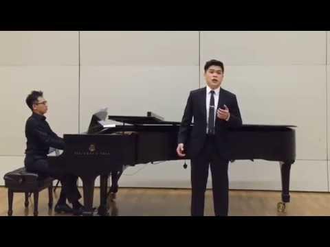 Tosti - L'alba separa dalla luce l'ombra (Felix Suen, tenor / Rod Yu, pianist)