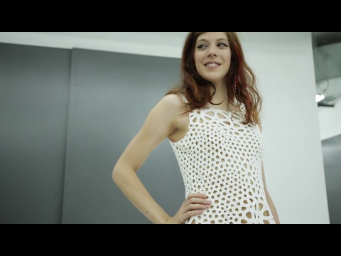 Nervous System: Kinematics Dress Design and 3D-Printing Process