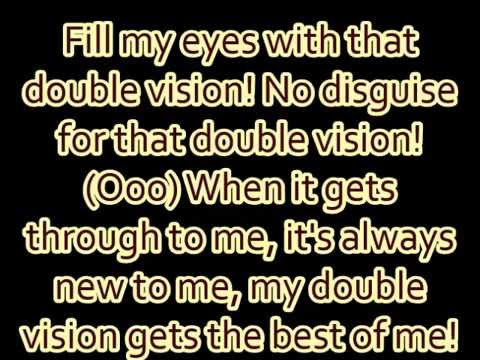 "Foreigner - ""Double Vision"" lyrics"