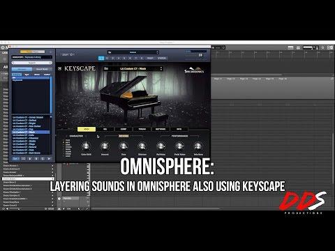 Omnisphere: Layering Sounds In Omnisphere Also Using