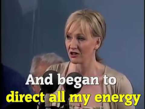 ''BENEFITS OF FAILURE'' - J.K.ROWLING (MUST WATCH)