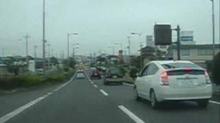 [車載動画]R349 - (旧6国千波湖~梅香トンネル~R349那珂バイパス菅谷)