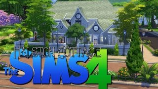 Halston Cottage Construction   The Sims 4 Speed Build