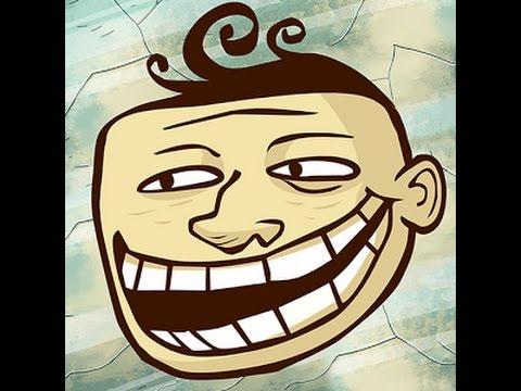 Полное прохождение игры Troll Face Quest Unlucky (1-35 уровень) на андроид