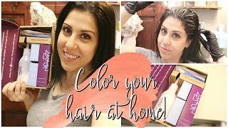 AT HOME COLOR ROUTINE    MADISON REED COLOR KIT TUTORIAL    SALON QUALITY HAIRCOLOR