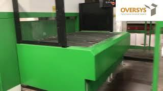 VIDEO OVERSYS U49280319 BOBST SPO 160 ER FLAT BED DIE CUTTER
