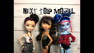 Monster High/Ever After High NEXT TOP MODEL Stop Motion Episode Five: FESTIVAL
