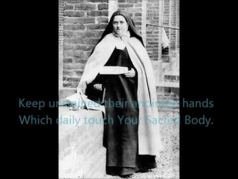 リジューの聖テレーズ司祭のための祈り 歌:初音ミク