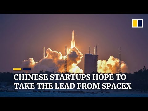 Aerospace startups in China touting to be the next SpaceX