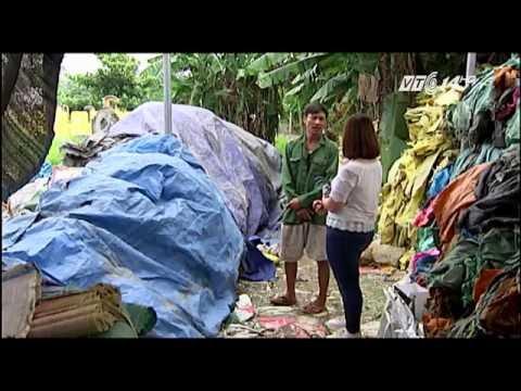 (VTC14)_Hải Dương: Ô nhiễm môi trường từ cơ sở tái chế nhựa