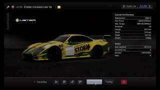 Gran Turismo 5 - Lister Storm V12 Race Car