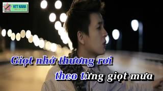 [Karaoke] Anh Chỉ Là Cơn Mưa - Ngô Kiến Huy (full beat)