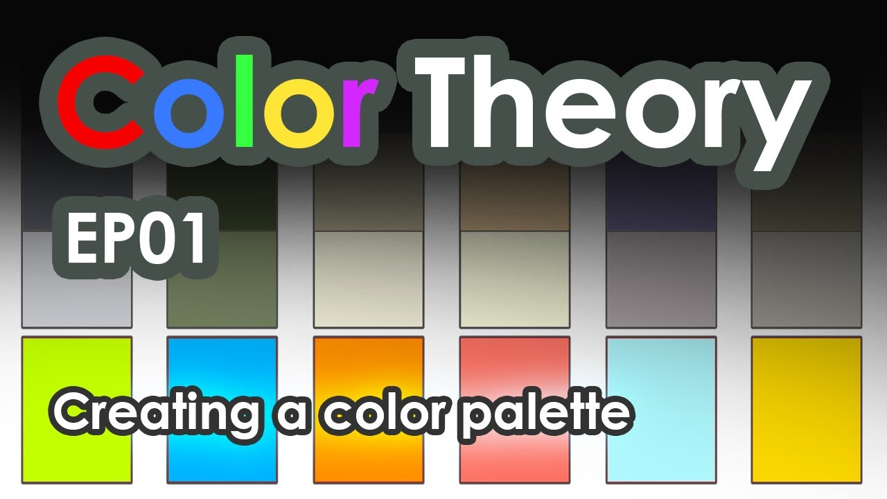 How To Create A Good Color Palette  Youtube