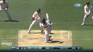 Highlights Of Second Test Day One