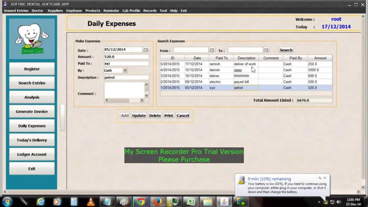 Dental Lab Work And Account Management Software Youtube