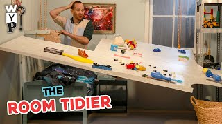 How to Tidy Your Room in 10 Seconds | What's Your Problem?