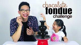TERONG RASA COKLAT!! CHOCOLATE FONDUE CHALLENGE Ft PONAKAN!!