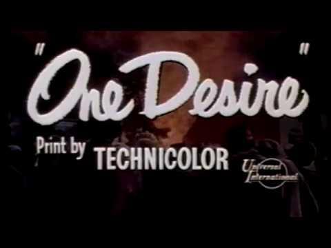 One Desire 1955     Anne Baxter, Rock Hudson, Julie Adams