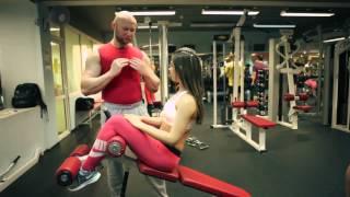 Первые тренировки для девушек в спортзале. Как провести первую тренировку на тренажерах Ч2(Тренировка в зале для начинающих девушек Как надо проводить первую тренировку в спортзале для девушки?..., 2014-03-20T09:47:43.000Z)
