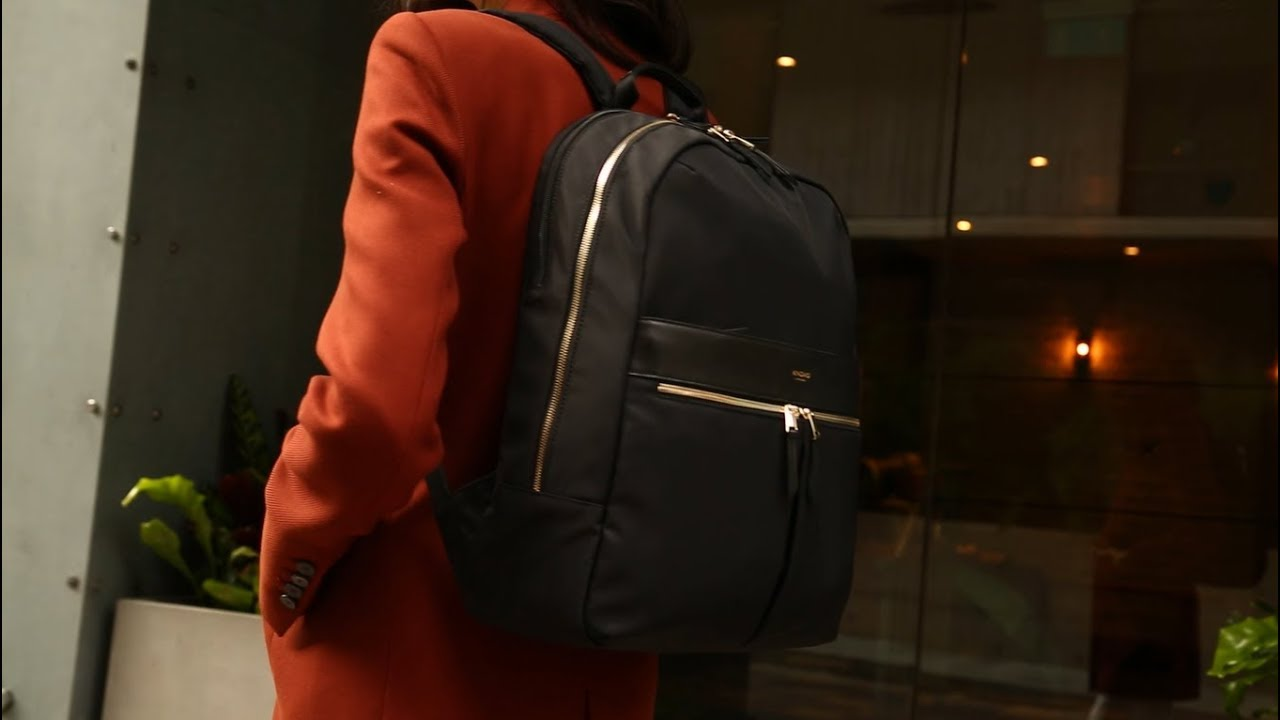9bd584f1548e Knomo Beaufort Backpack - YouTube