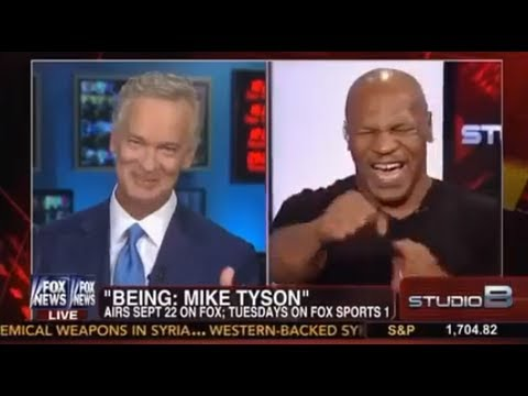 Mike Tyson Keeping It Real On Fox News - Mike Tyson Interview w/Trace Gallagher - 9/17/2013
