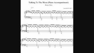 Talking To The Moon - Bruno Mars (Piano Accompaniment) by aldy32