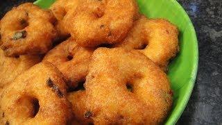 Medhu Vadai In Tamil | How To Make Crispy Medu Vadai | Ulund Vadai In Tamil | Gowri Samayalarai