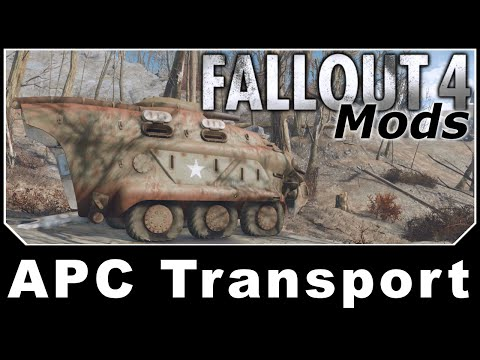 Fallout 4 Mods - APC Transport