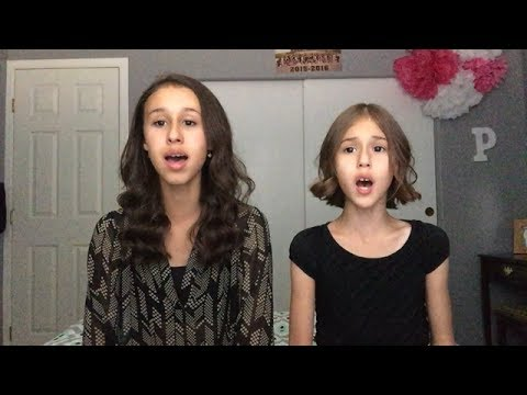To Be Human by Sia | Wonder Woman - A Cappella Cover by Brooklyn Noelle (16) & Presley Noelle ( 9)
