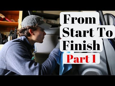 Complete Interior Detail | From Start To Finish Part 1