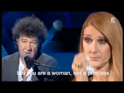 CELINE DION sings Robert Charlebois ORDINAIRE (translated in English).