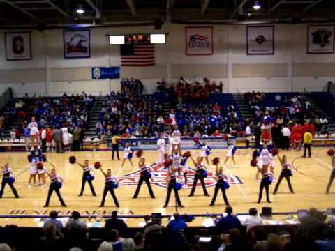 American University Cheer & Dance Team Fight Song (11/15/07)