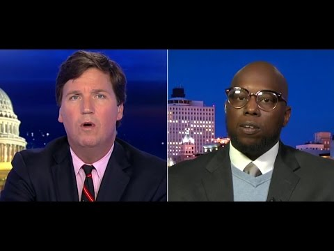 Tucker Carlson - Do immigration rights clash with raising minimum wage?