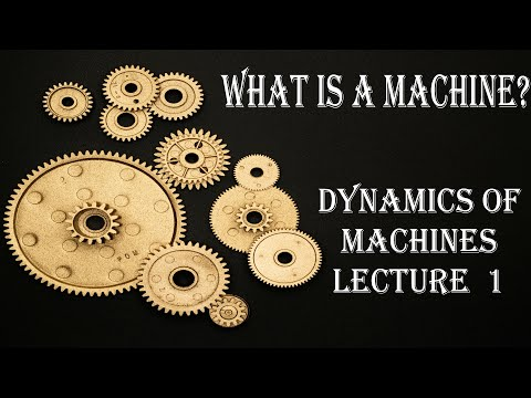 Dynamics Of Machines Mechanical Engineering | CrashCourse | Lecture 1 | Theory Of Machines | 2020