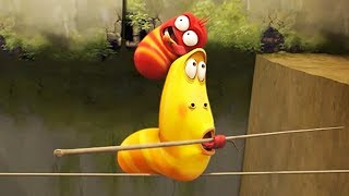 LARVA - TIGHT ROPE | Cartoon Movie | Cartoons For Children | Larva Cartoon | LARVA Official