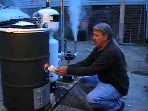 Imbert Gasifier Test 04-18-2013