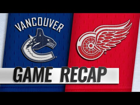 Howard makes 40 saves to lead Red Wings to 3-2 SO win