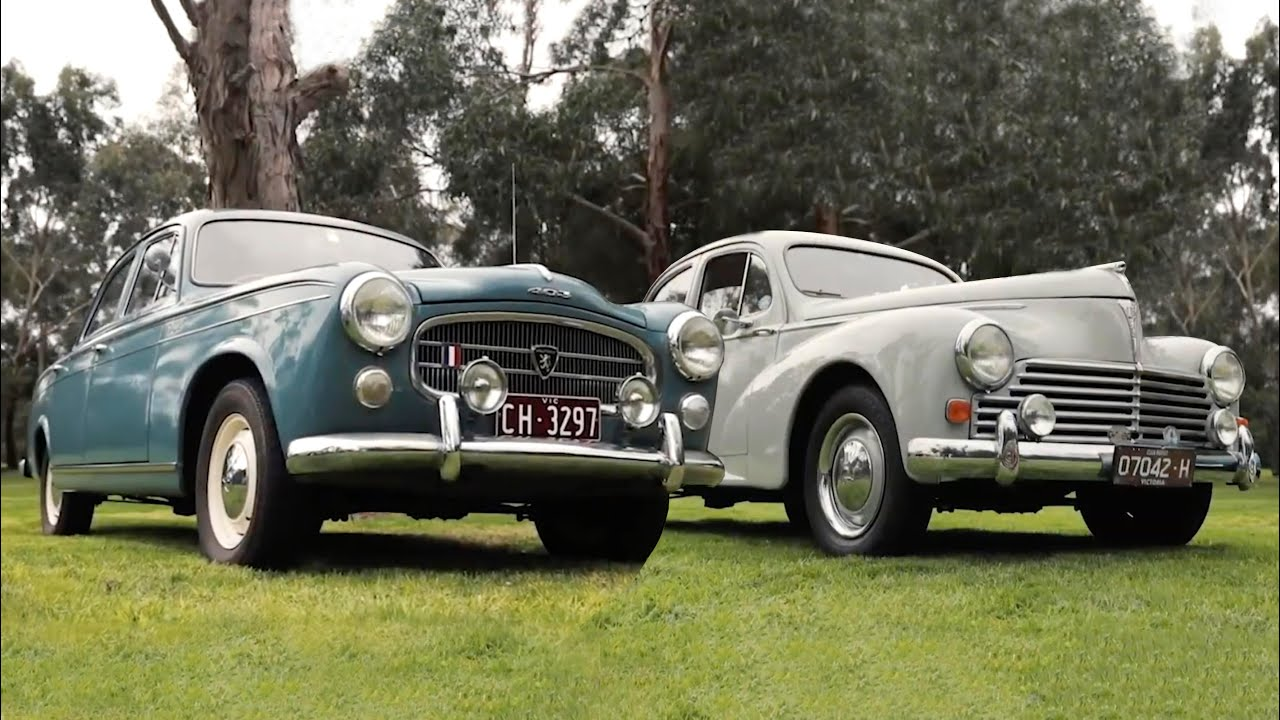 Peugeot 203 and 403 - Shannons Club - Episode 131