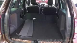 видео Как раскладываются задние сиденья на Рено Дастер